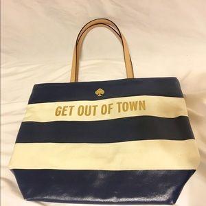Kate Spade Get Out of Town Bon Shopper Tote Bag